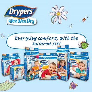Drypers Wee Wee Dry Carton Sales