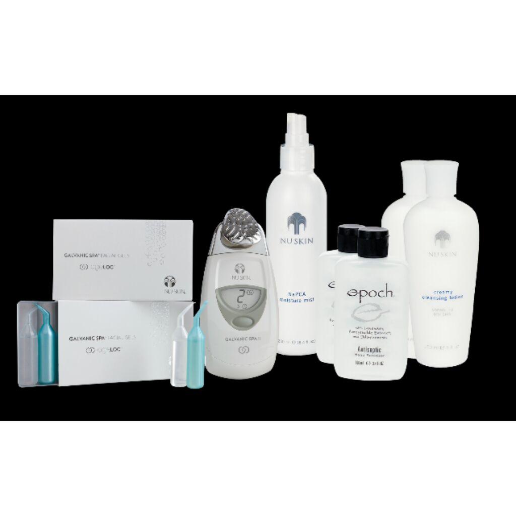 Nu Skin Ageloc Galvanic Face Spa Pack Shopee Singapore