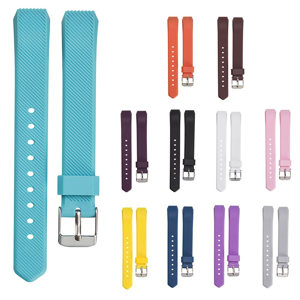 ◆Promotion Luxury Silicone Band Strap Buckle For Fitbit Alta Twill Strap