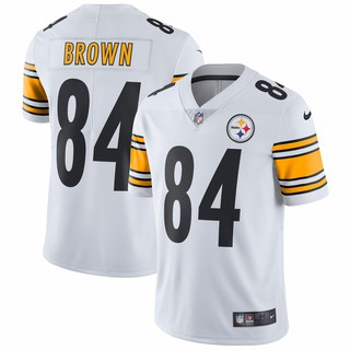online store c372c 03a84 NFL Pittsburgh Steelers Antonio Brown #84 White Limited ...