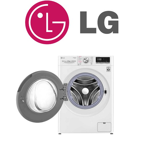 Image result for LG FV1408S4W 8KG AI Direct Drive   shopee.sg