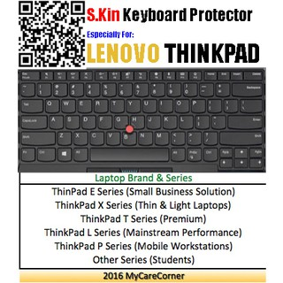 S Kin Silicone Keyboard cover Lenovo ThinkPad laptop X280