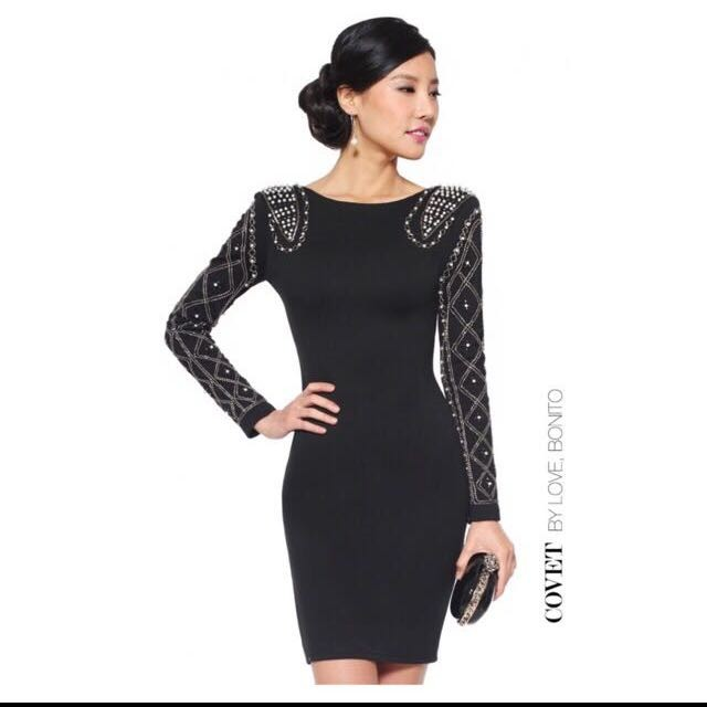 24cf96704f1166 Love Bonito - Covet Eldridge Dress in Black (Size S) | Shopee Singapore