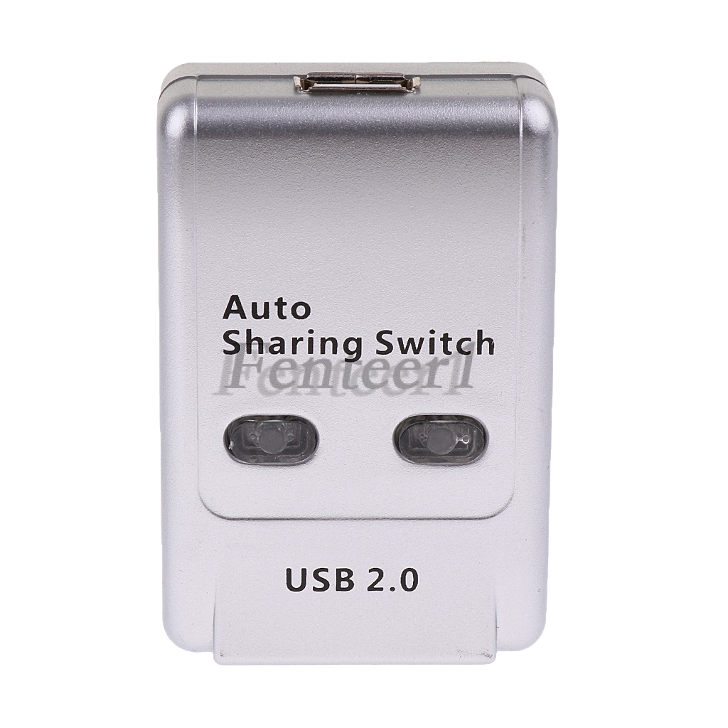 2 Ports USB 2 0 Auto Sharing Switch HUB Selector for Printer/HDD/Flash Drive