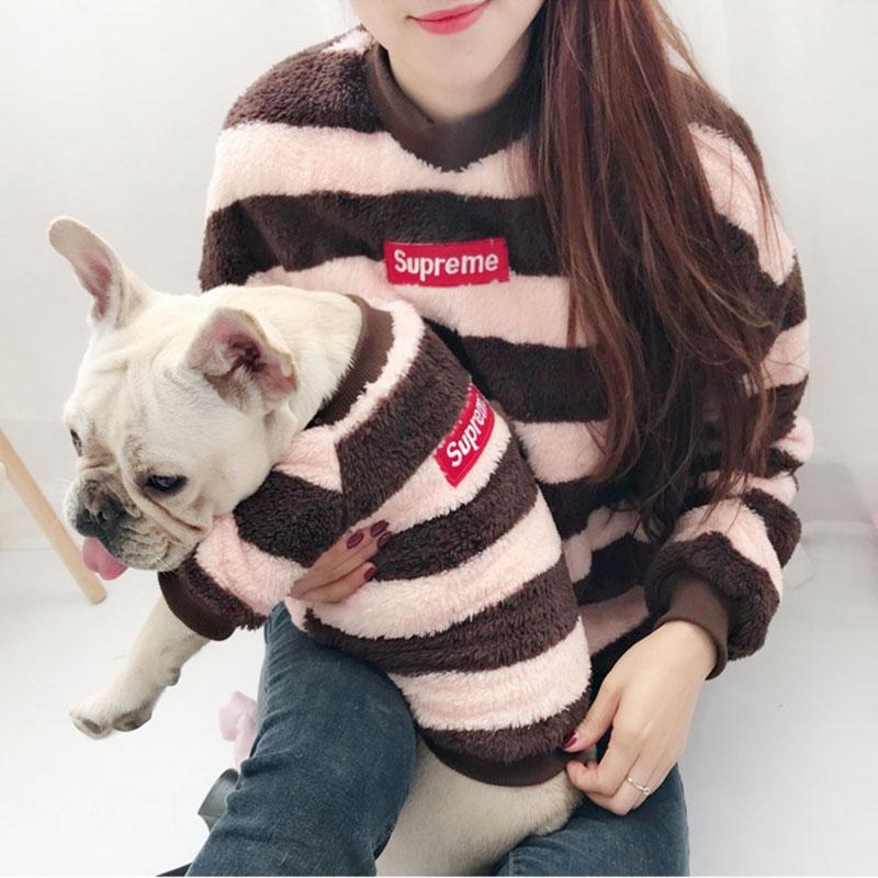 New warm sweater small pet dog parent-child | Shopee Singapore