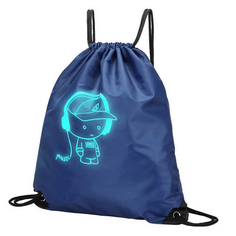 d2f78766e5f6 Unisex Teenagers Drawstring Bundle Pocket Bags Waterproof Nylon ...