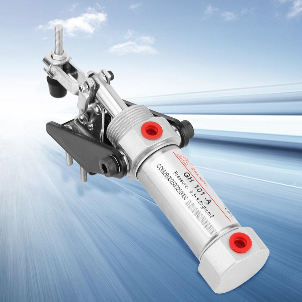 """Pneumatic Clamp,Air Powered Hold Down Clamp 1//8/"""" Inlet 50KG Air Toggle Clamp"""