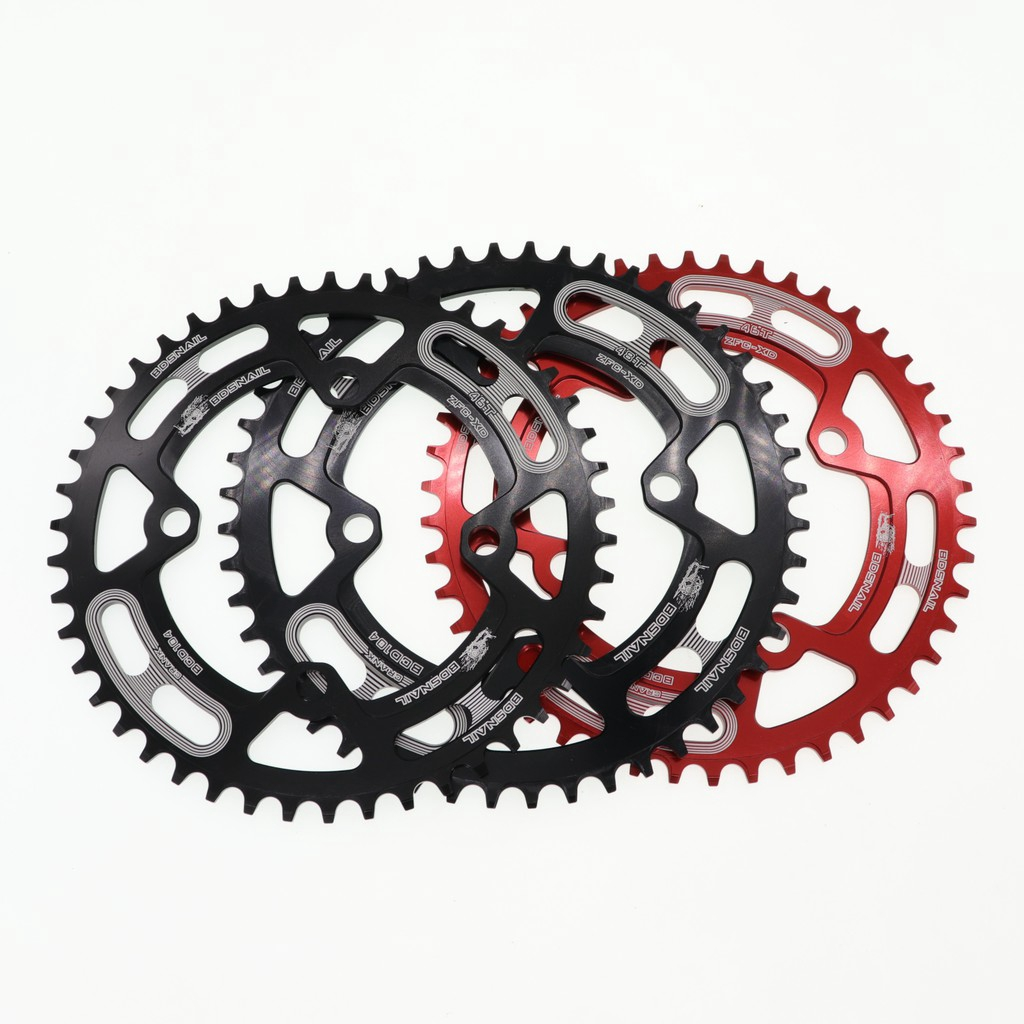 SNAIL Mountain Bike Narrow Wide Round Chainring BCD 104mm 44T 46T 48T 50T 52T