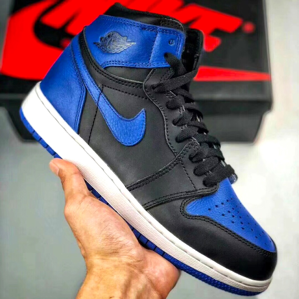 new products fa27b a7927 Nike Air Jordan 1 Retro High OG Track Red 555088 112   Shopee Singapore