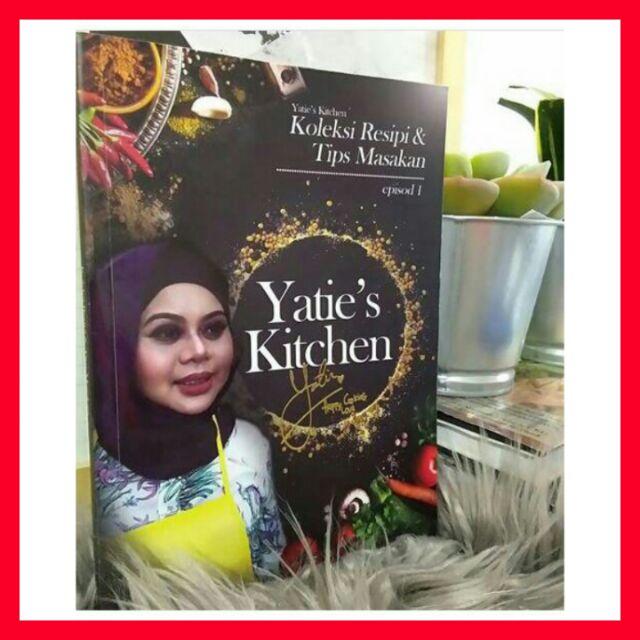 Hot Seller Buku Yatie S Kitchen Episod 1 Shopee Singapore