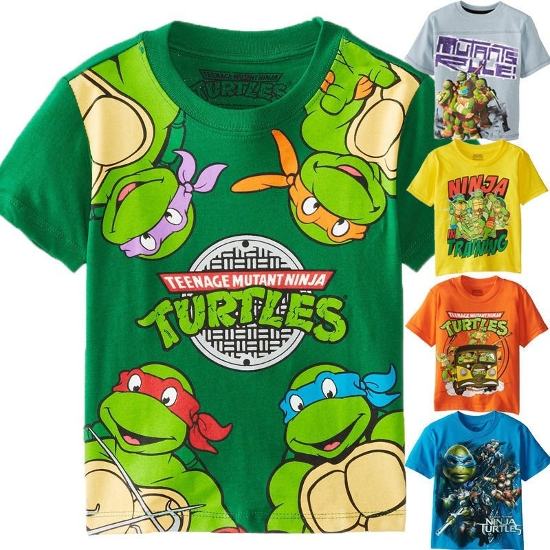 TMNT Teenage Mutant Ninja Turtles Baby Boys 2 Piece Shorts Set Newborn