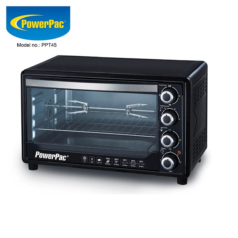 Helpful Tips To Light Your Kitchen For Maximum Efficiency: PowerPac 45L Electric Oven With 2 Tray / 2 Wire Mash