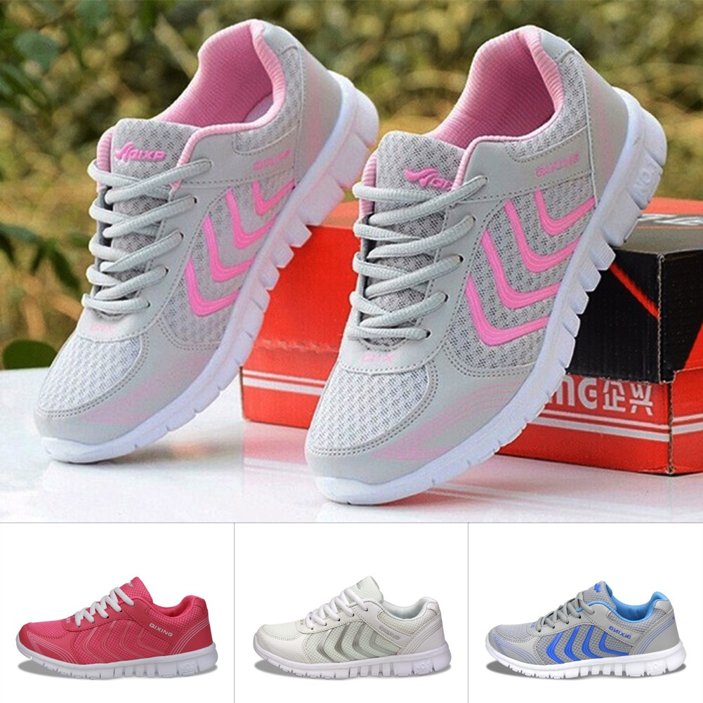 2bf78d70b Women Embroidered Flower Running Sneakers Flat Shoes Trainers Hot Sale