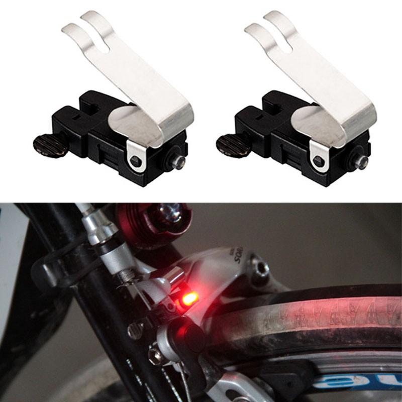 1x Bike Brake Light Mount Tail Rear Bicycle Cycling LED Safety Warning Lamp