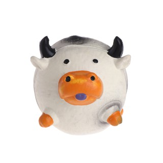 toto ღ Pet Toys Cats Dogs Balls Pig Cow Chicken Squeaker