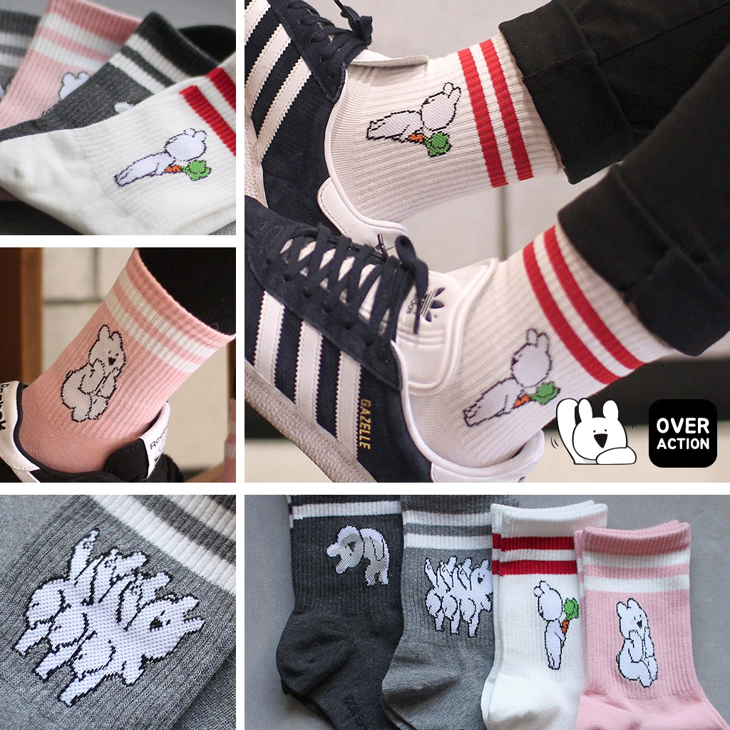 Chinchillas Moon Medium Pink Casual Cotton Crew Socks Cute Funny Sock,great For Sports And Hiking