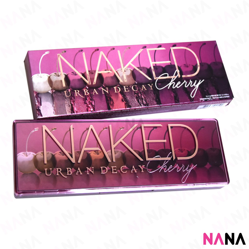 Urban Decay Naked Cherry Collection - Glam Express