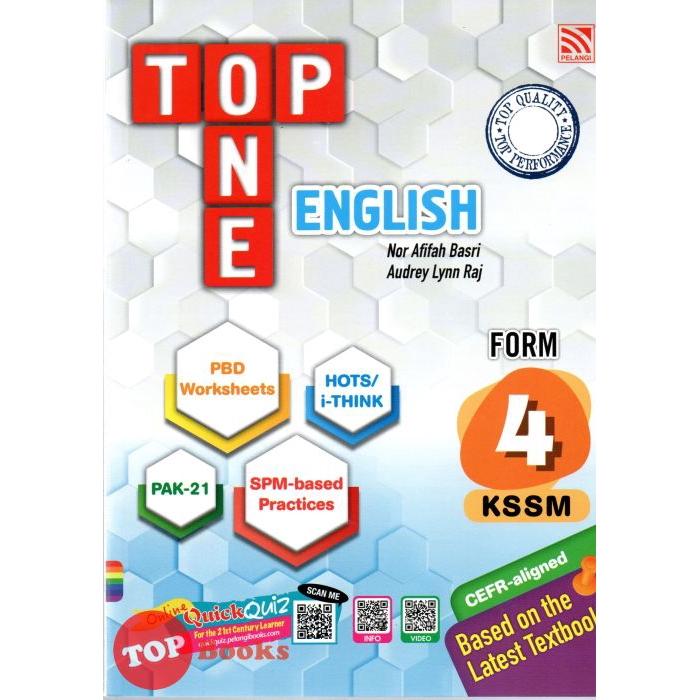 Pelangi Top One Kssm 2020 English Form 4 Shopee Singapore