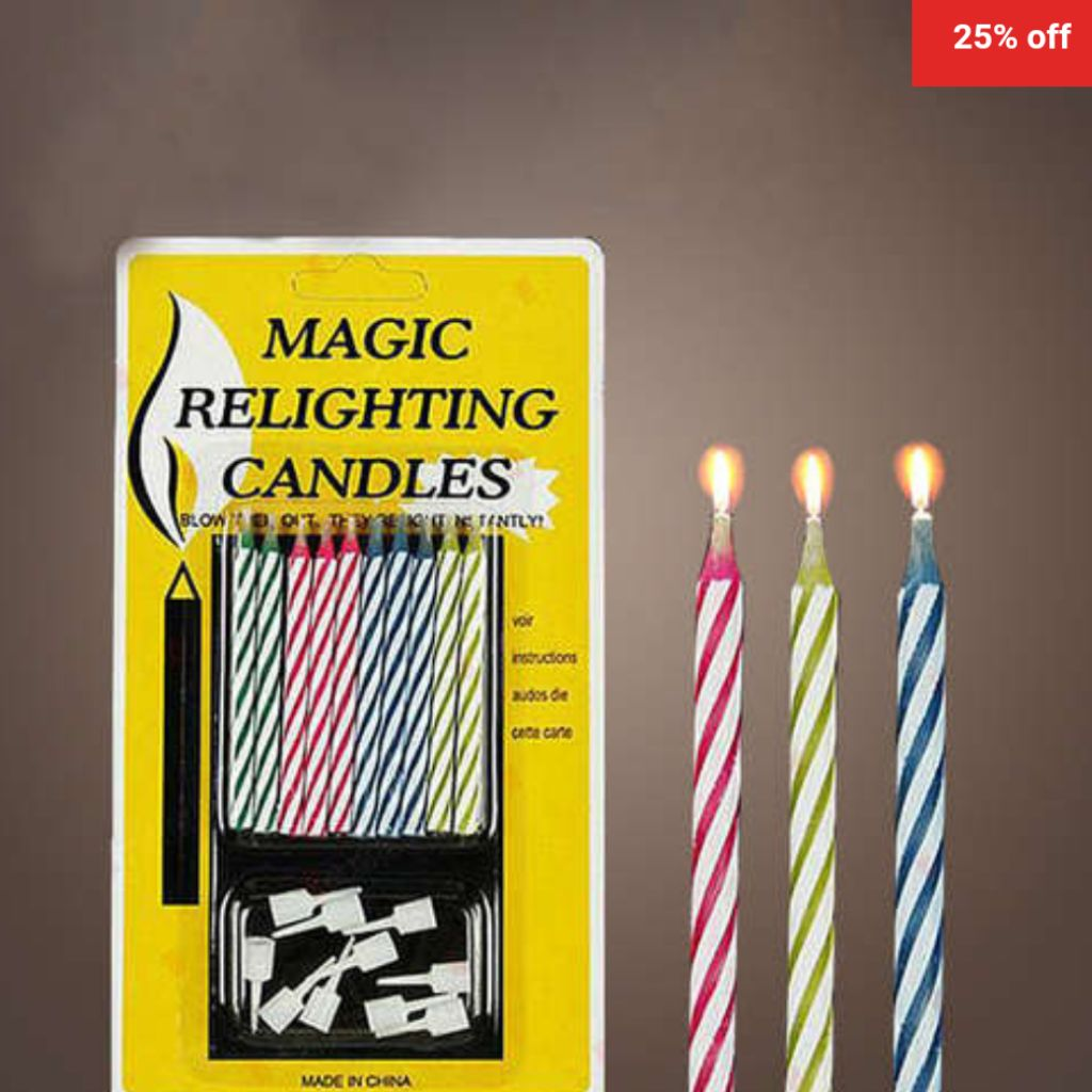 Birthday Candles Magic Relighting