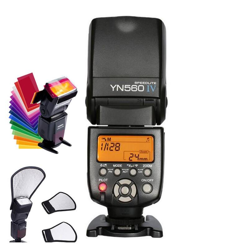 Flash Yongnuo Yn 560 Iv Nikon Canon + Frete - R$ 379,00 em
