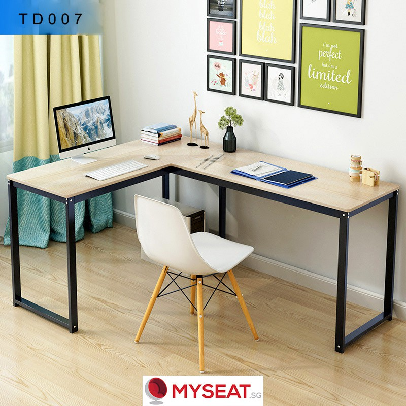 MYSEAT sg LINUS L-Shaped Table