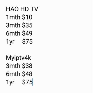 IPTV yearly subscription MYIPTV APK MYIPTV account for SG