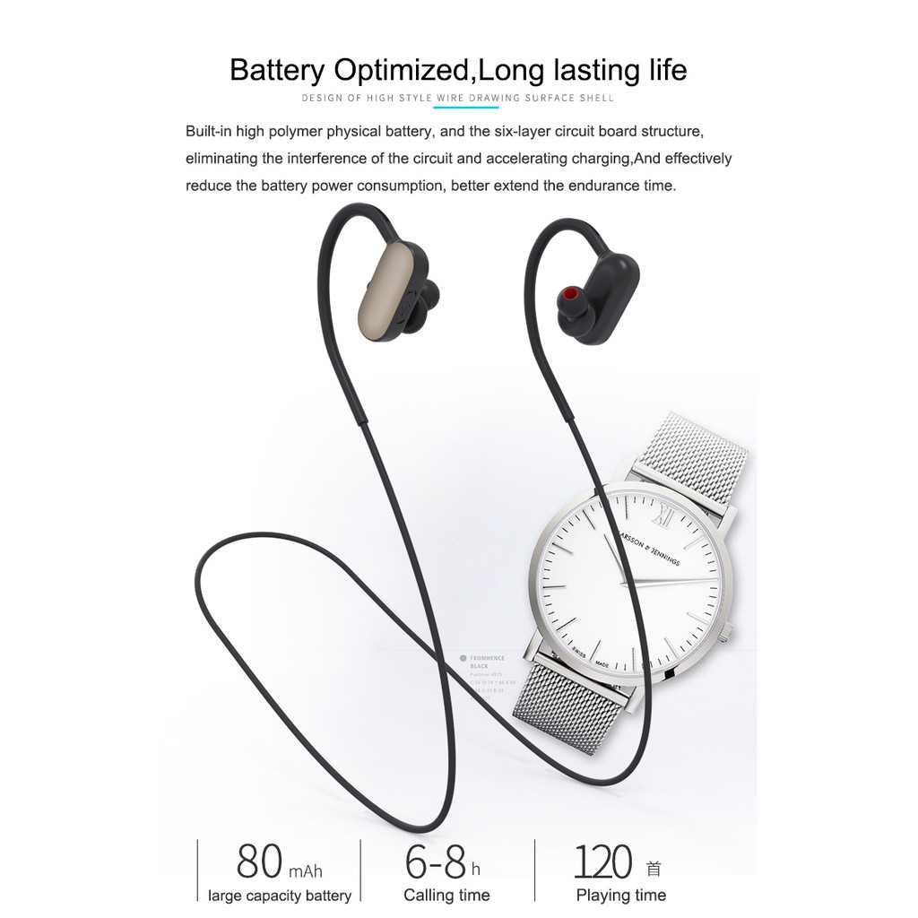Sports Earphones In Ear Phone Bluetooth Headphones Shoulder Stereo Headset Earphone Sport Fonge Mic Fg S500 Shopee Singapore