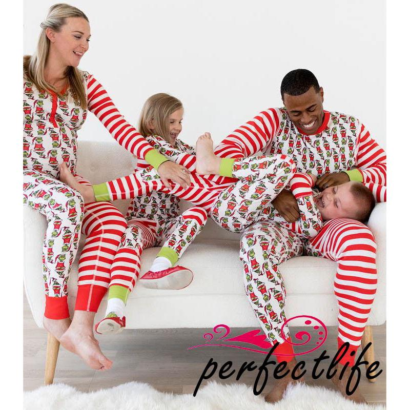 Matching Christmas Pjs.Hzl Cartoon Family Matching Christmas Pajamas Pjs Sets Xmas Sleepwear