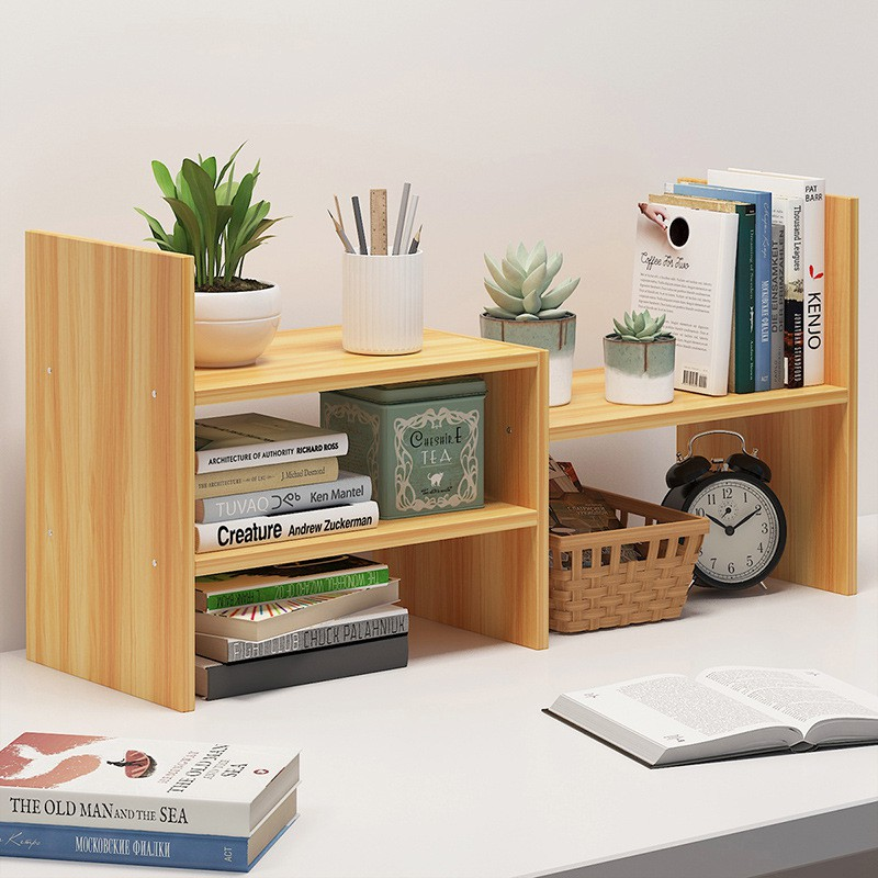 Display Book Shelf Rack Storage Organizer HolderHome Open Concept Plant Shelf
