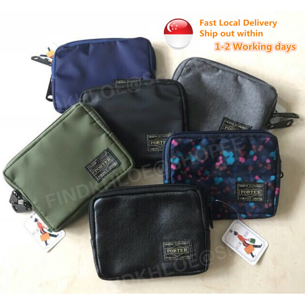 02a29f060f19 🌟SG LOCAL SELLER🌟 Porter Coin / Card Pouch Short Wallet