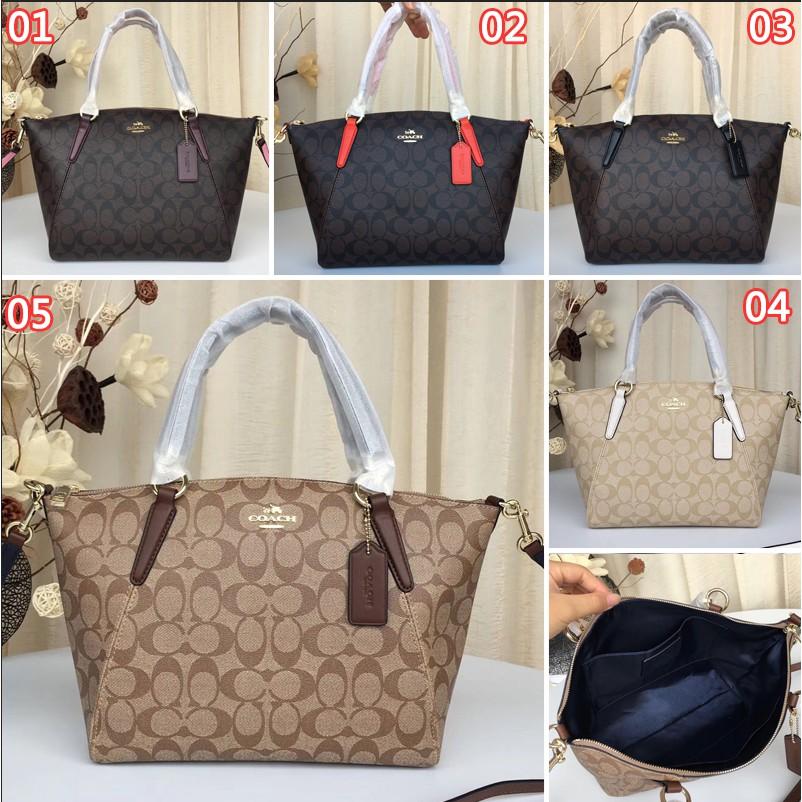 f0bb3e74802d COACHClassic pattern handbag,single shoulder bag oblique bag dumpling bag  F28989