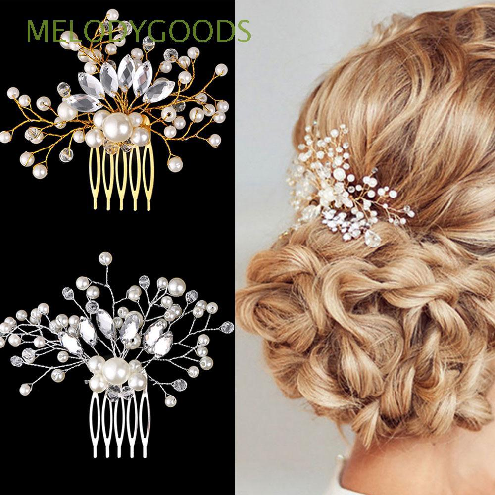 romantic accessories wedding crystal crown bride hair