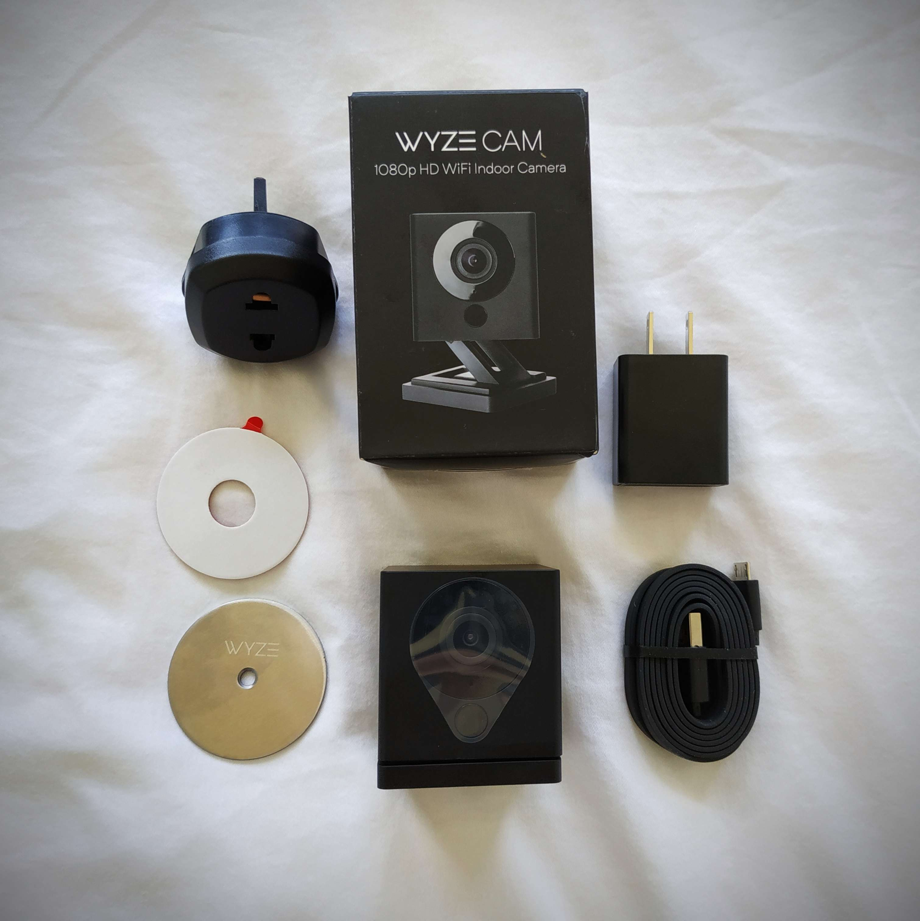 Wyze Cam V2 1080p Hd Indoor Wireless Smart Home Camera With Night Vision 2 Way Audio Works With Alexa International Shopee Singapore