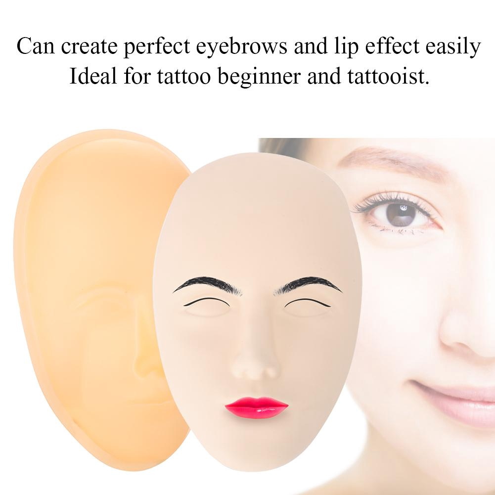 75441d6e5 5D Practice Permanent Makeup Training Silicone Fake Skin | Shopee Singapore