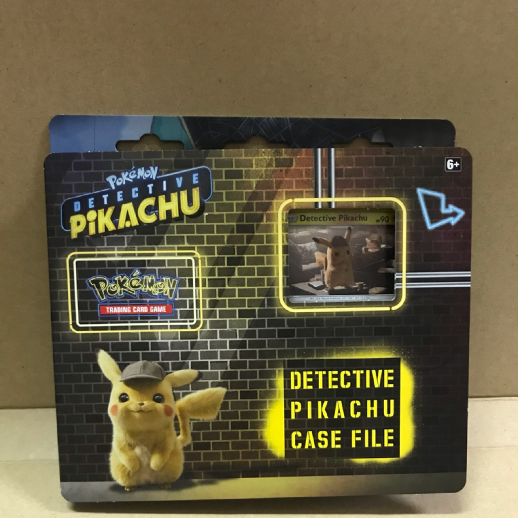 Brand New And Sealed! Pokemon TCG Detective Pikachu 3 Booster Packs