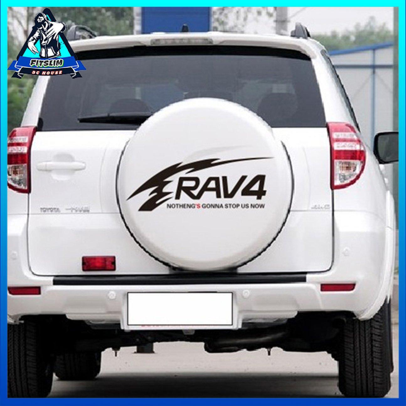 Toyota RAV4 car Stickers Reflective car Stickers RAV4 Spare tire Stickers Back tire Spare tire Cover Stickers