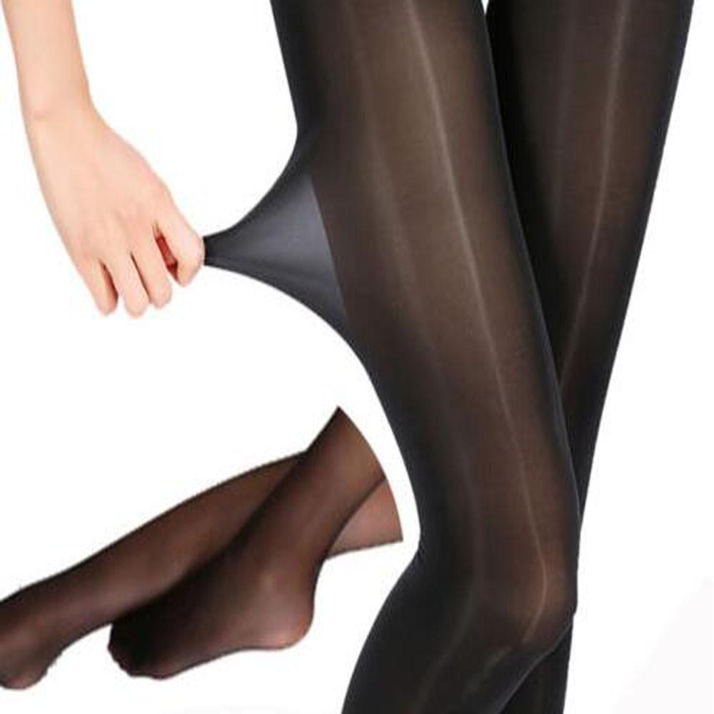 Medias 30D Large Size Tights Pantyhose Silk Stockings Super Elastic Skinny Leg