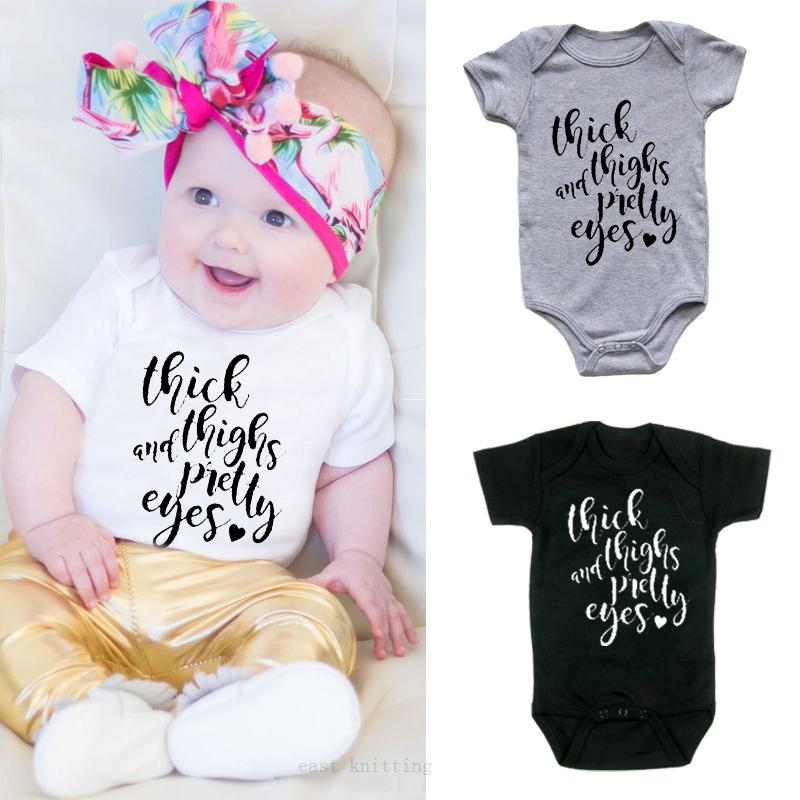 Infant Baby Boys Bodysuit Short-Sleeve Onesie Panda Print Outfit