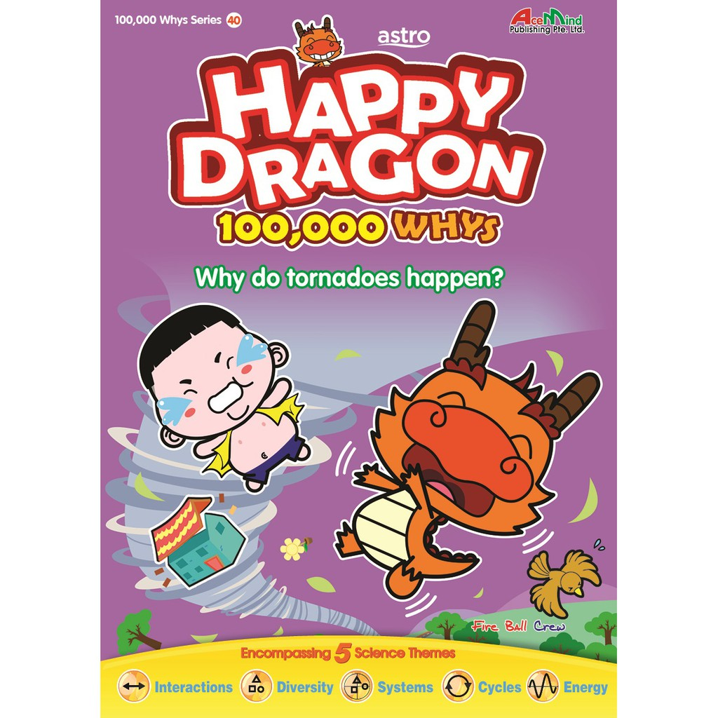 Happy Dragon 100K Whys from Young Scientists (5 books bundle)