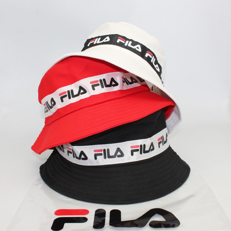 e9232610 New Fashion Bucket Hat Fila Outdoors Sports Sun Hat Men Women Hip Hop Cap |  Shopee Singapore