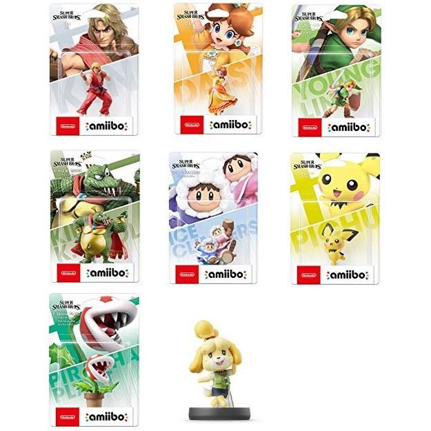 Nintendo Switch Amiibo Sumabura Dairantou Smash Bros Special New Fighters