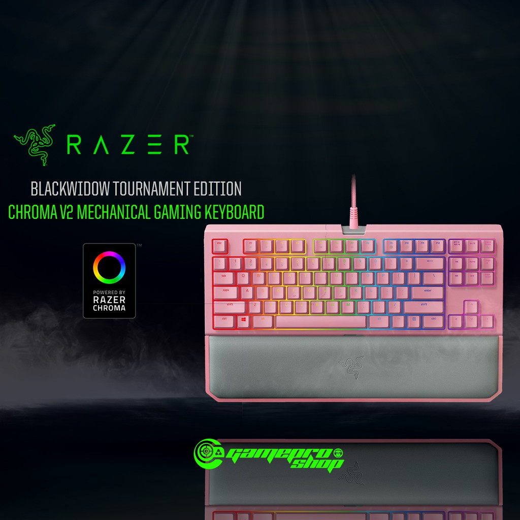 c0ffb3af529 Razer Blackwidow Tournament EDI Chroma V2 Quartz | Shopee Singapore