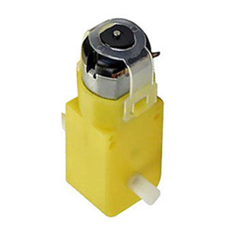 10pcs TT Gear Motors For Robot Car 3-12V DC EMC Strong Magnetic Plastic