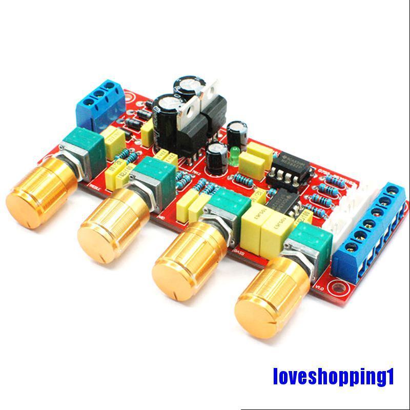 Ne5532 Pre Amplifier Tone Board Treble