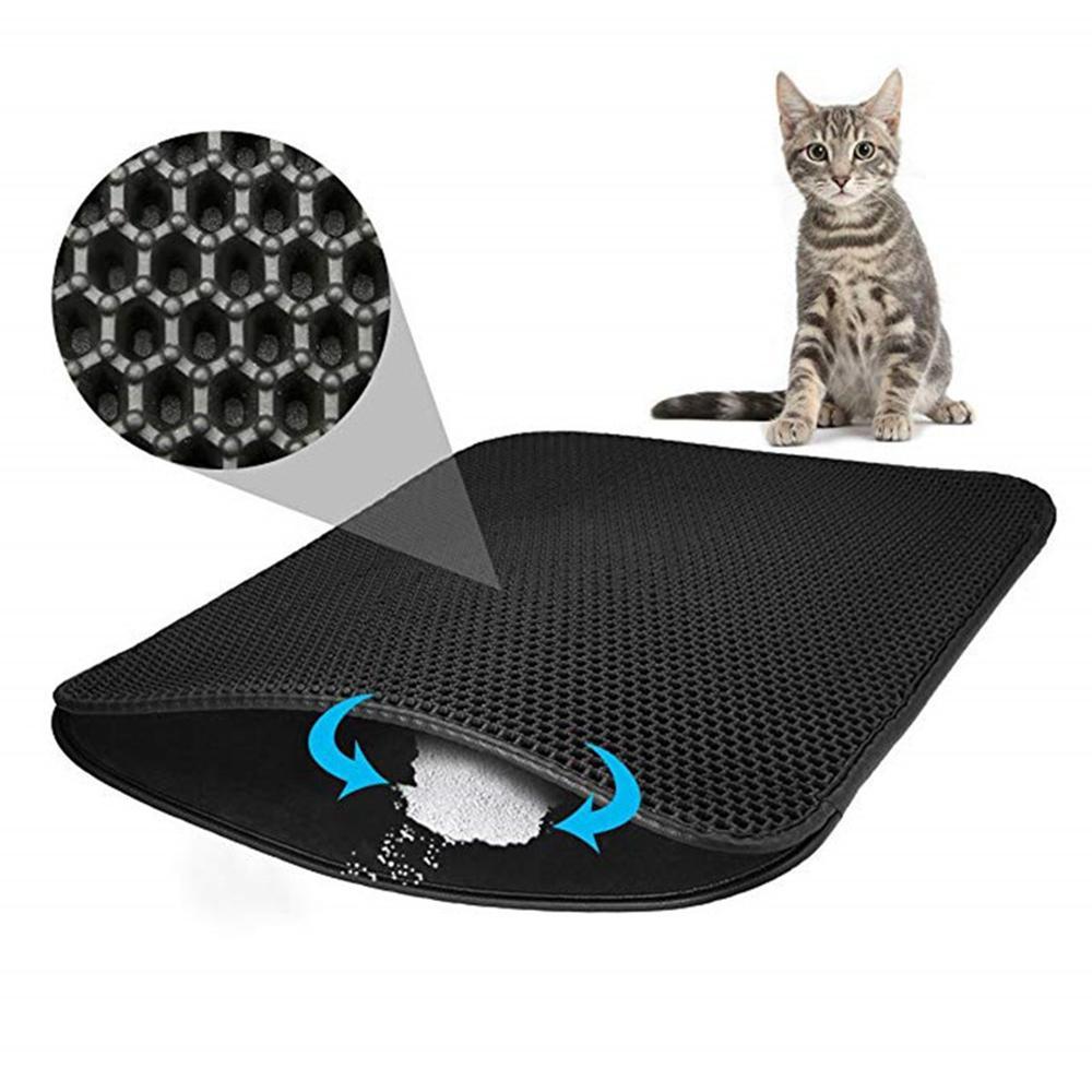 Cat Litter Mat Waterproof Pet sleeping Mat Double Layer Detachable pet Pad