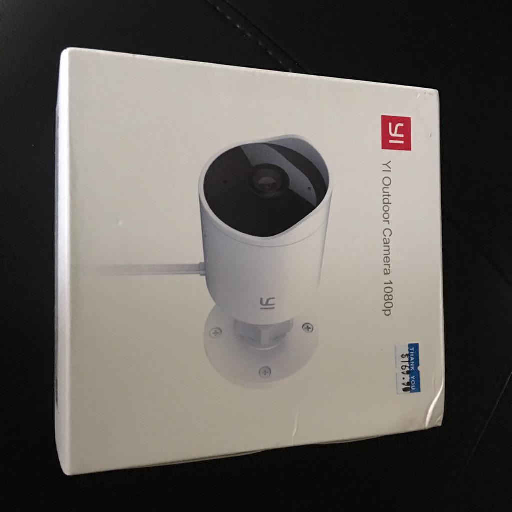 XIAOMI YI Outdoor Camera 1080P HD|Weatherproof|Deterrent Alarm|Night