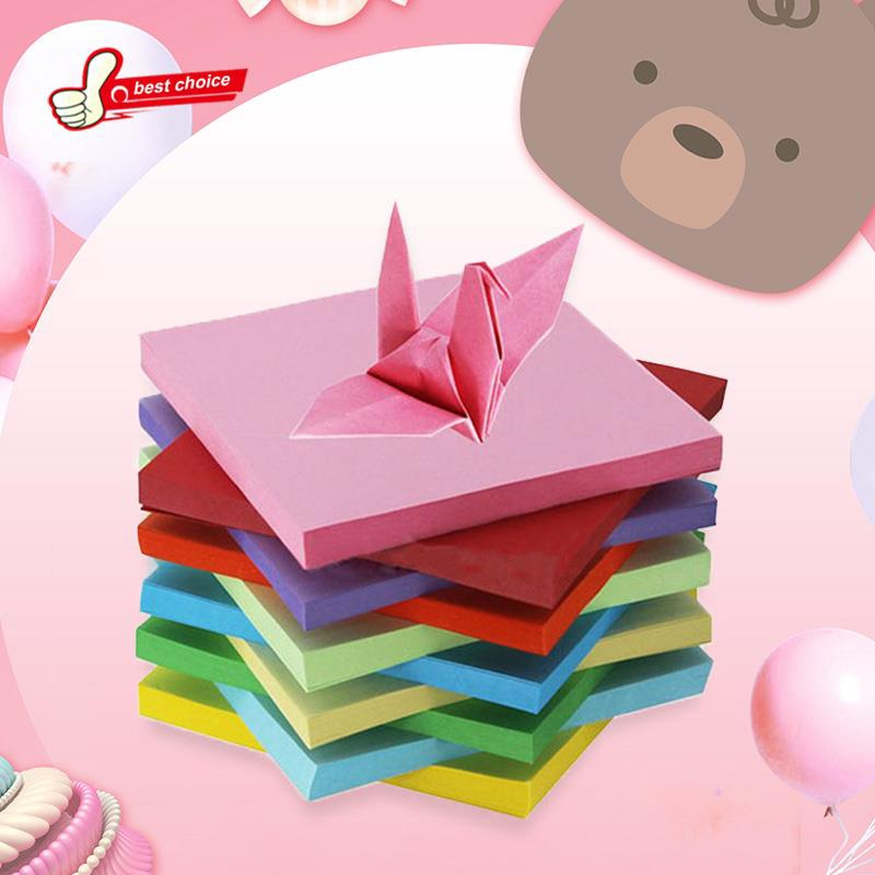 Square Laser Paper Origami Paper Kid DIY Handmade Double Sided ... | 800x800
