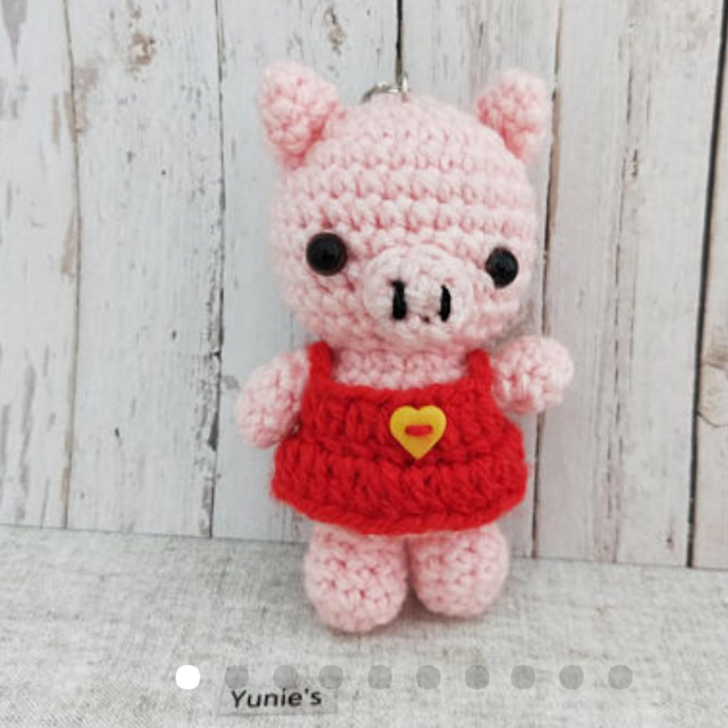 Adorable Crochet Along Pig [FREE Pattern + Video Tutorial] - The ... | 1024x1024
