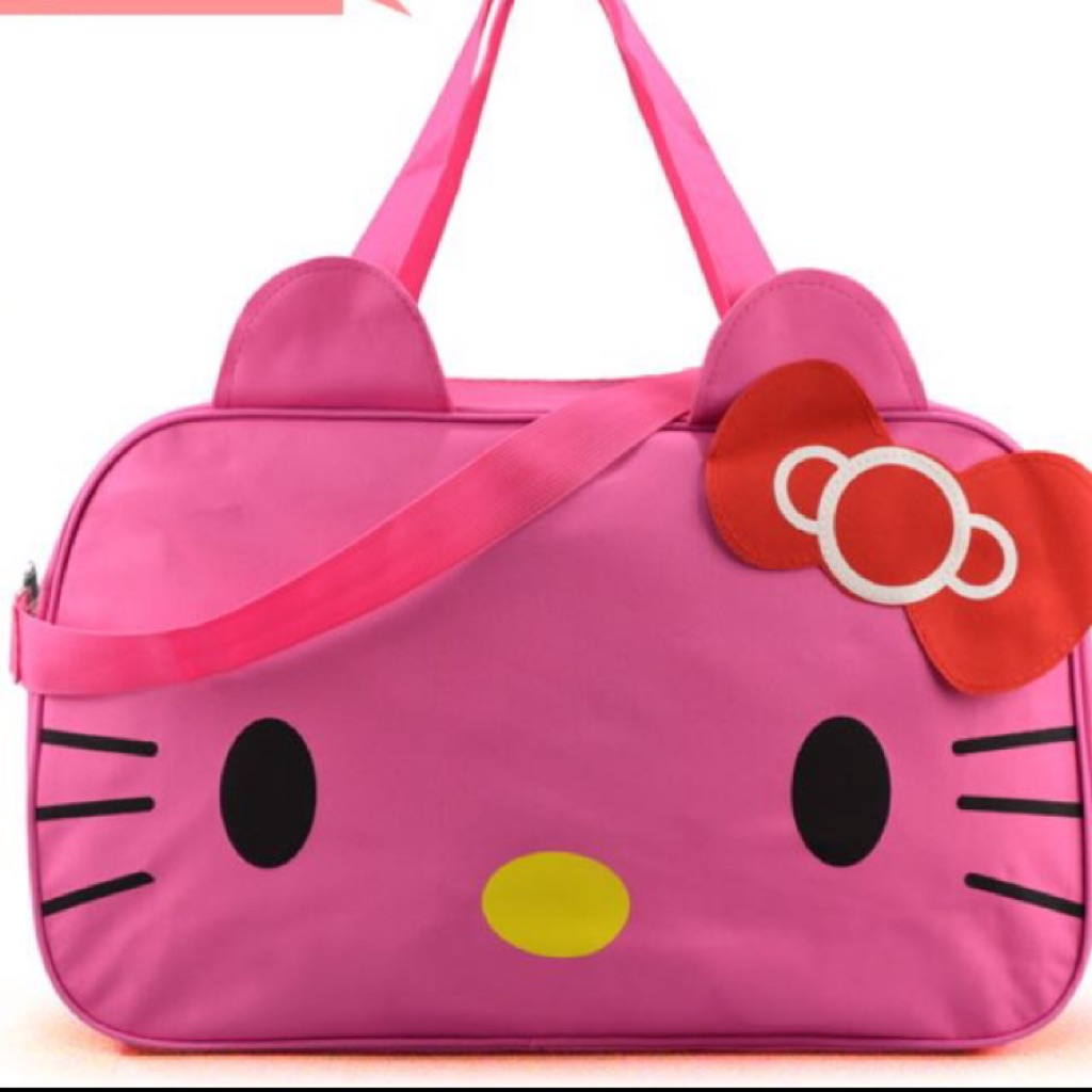 66ca31ff88 BN Waterproof Hello Kitty Travel Bag