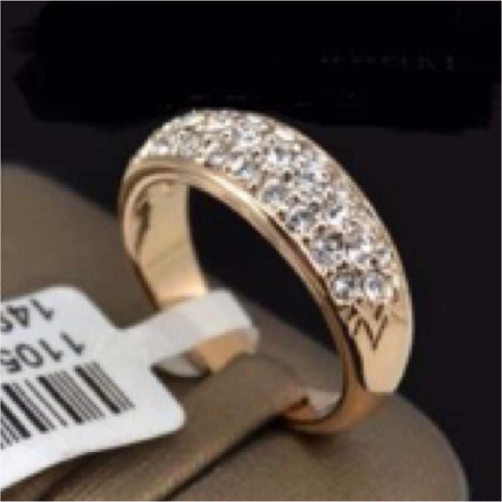 Fashion Ring Engagement Ring Wedding Ring Crystals Studded